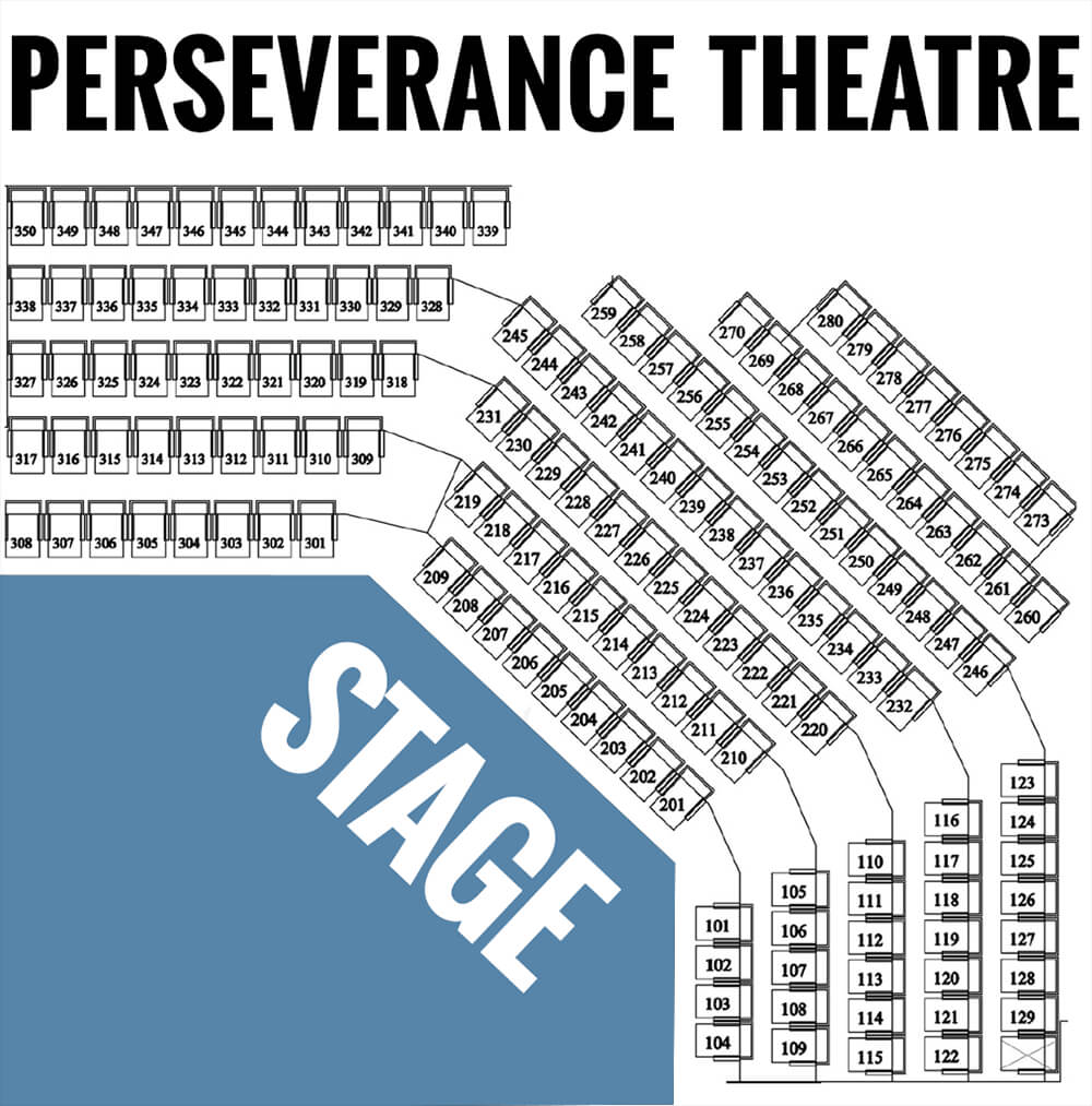 Verance Theatre Seat Map
