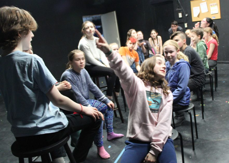 Young Company Stages Dance Fantasy Disco Alice The Wonderland Remix Perseverance Theatre